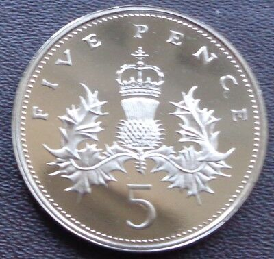 1971 - 2019 Elizabeth II Decimal 5p Five Pence Proof - Choose Your Year