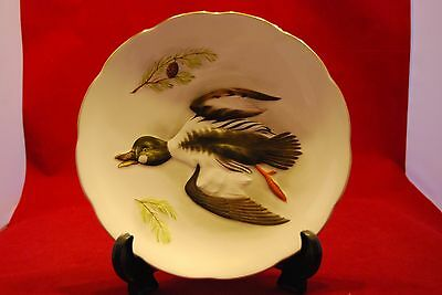 Crown Staffs Wildfowl Coll Plaque By Peter Scott GOLDENEYE
