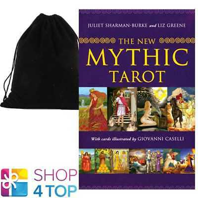 The New Mythic Tarot Cards Deck Book Set Esoteric Astrology With Velvet Bag New
