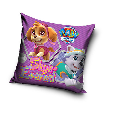 PAW PATROL Skye Everest pink cushion cover 40x40cm 100% COTTON