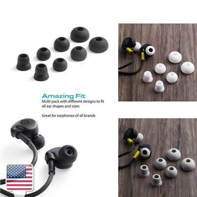 Powerbeats 2/3 Silicone Replacement Eartips, 4 (8 pcs) x Earbud Tip Set
