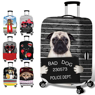"18-32"" High Elastic Travel Luggage Skin Case Cover Cute Suitcase Dust Protector"