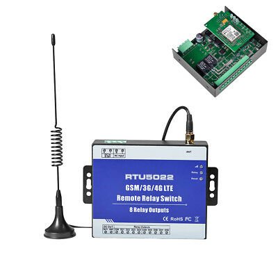 Rtu5022 Industrial Gsm Sms Remote Controller Relay Switch For Iot Devices Suprem