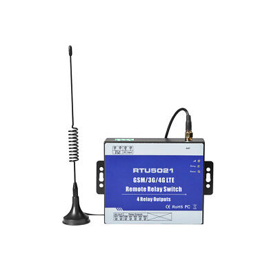 Rtu5021 2G Sms Gprs Gsm Remote Controller 4 Relay Output Switch On/off Supreme