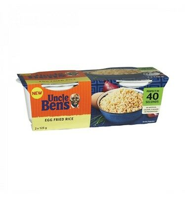 Uncle Bens Egg Fried Rice Cup 2pk 126g