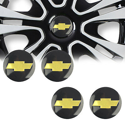 "4x 56mm 2.2"" Car Wheel Center Hub Cap Emblem Badge Decal Sticker for Chevrolet"