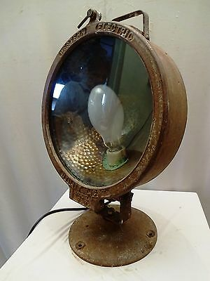 Antique Light Utility Flush Western Electric Made In U.s.a Metal Collectibles