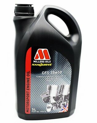 Millers Oils NANODRIVE CFS 10W50 Fully Synthetic Engine Oil - 5 Litre - 7955GMS
