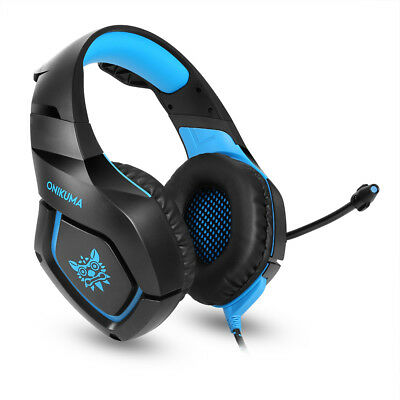 Nuovo ONIKUMA K1S Stereo Bass Surround Gaming Headset for PS4 Xbox One PC Mic