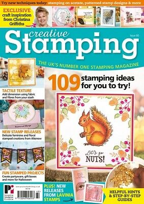 Creative Stamping Magazine Issue 60 + Free Autumnal Treasures 35 Piece Stamp Set