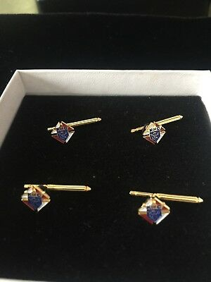 Knights of Columbus 3rd Degree Tux Studs, K of C