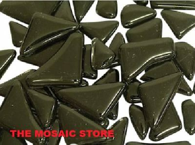 Black Crystal Glass Mosaic Tiles Irregular - Mosaic Art Craft Tiles Supplies