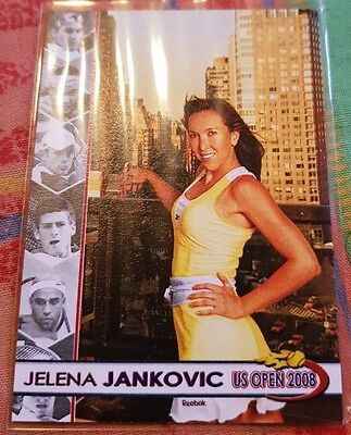 Jelena JANKOVIC 2008 US Open card #01/10 Tennis Centre Court Productions