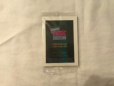 1996 Sports Time The Beatles Blockbuster Music Collection Promo Trading Card Set