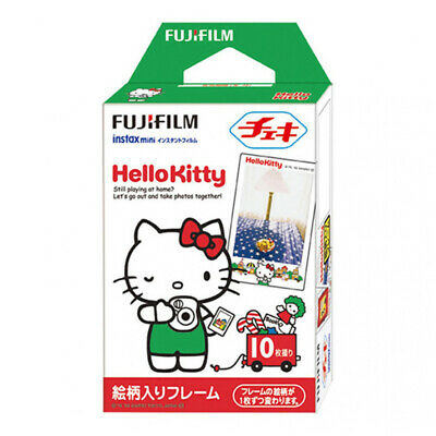 1 Pack 10 Photos Hello Kitty FujiFilm Fuji Instax Mini Film Polaroid 7S 8 SP-2
