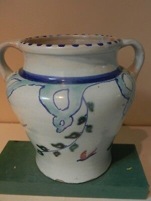 Collard era Beryl pattern 2 handled vase shape no 48