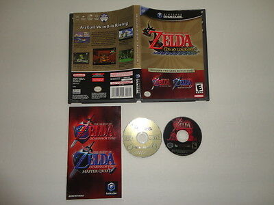 Legend of Zelda: The Wind Waker / Ocarina of Time Master Quest GameCube Tested