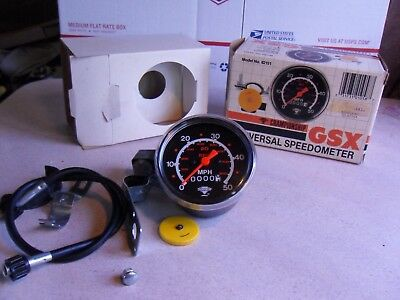 """Nos Gsx Bicycle Universal Speedometer Fits 20/26/27"""""""