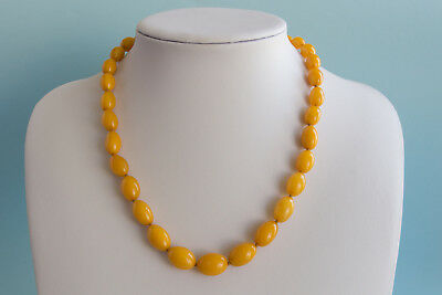 Bernsteinkette Baltic amber necklace collier d'ambre 琥珀項鍊 Länge 50cm (19,68in)
