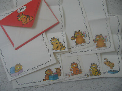 Various pcs of garfield VTG notepad