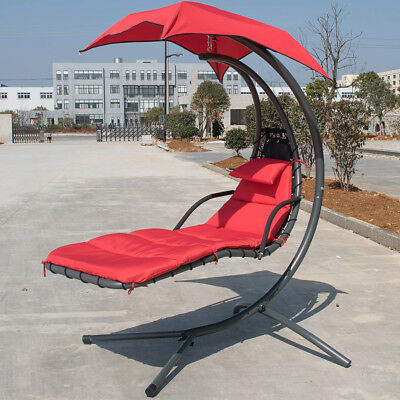Chaise Lounger Chair Arc Stand Air Porch Hammock Canopy Chair Swing Yard Outdoor