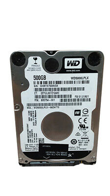 "Western Digital WD Black WD5000LPLX 500GB 2.5"" SATA III Laptop Hard Drive"