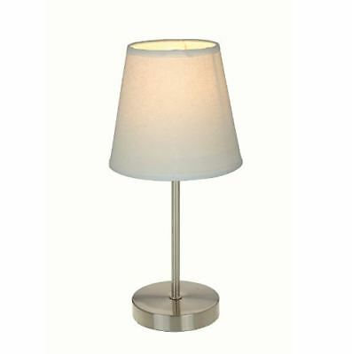 Table Lamp with Fabric Shade Stylish Fashionable Trending Home House Improvement
