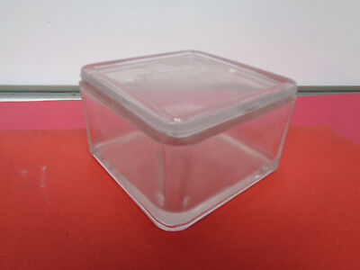 Lab Square glass staining jar with lid 119mm x 119mm x 74mm LOTGOUT917
