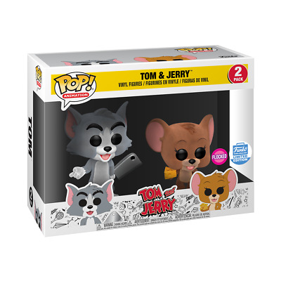 Tom And Jerry Flocked 2 Pack Funko Pop.  EXCLUSIVE. PRE-ORDER CONFIRMED