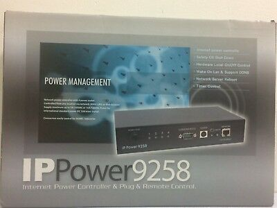 IP Power 9258 4 Outlet Remote Network Power Web Controller