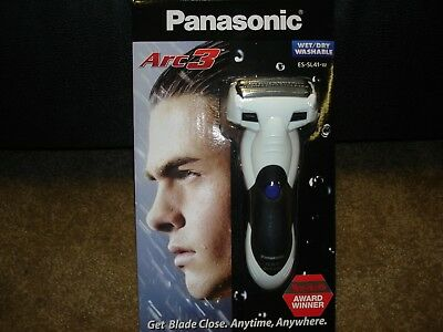 NEW Panasonic Arc3 Cordless Rechargeable Men's Wet/Dry Electric Shaver ES-SL41