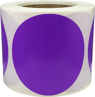 Color Coding Labels Circle Dots 4 Inch 500 Total Adhesive Stickers