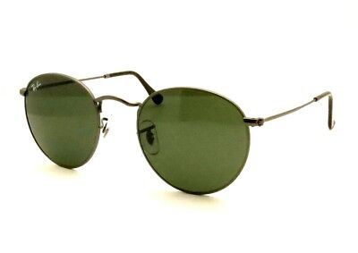 fb59616b96 AUTHENTIC Ray Ban RB 3447 029 50mm Gunmetal G15 Green New Sunglasses
