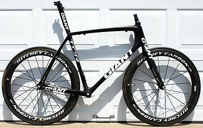 524d742bc70 Giant TCR Advanced SL Team ISP Carbon Compact Road Bike Frameset XL 60cm  EXTRAS