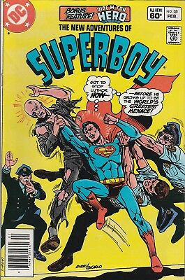 The New Adventures of Superboy #38 (Feb 1983, DC Comics)***VG/FN