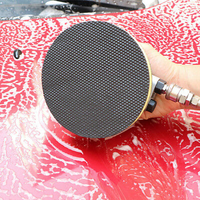 6 Clay Polish Disc Pad Car Care Wash Bar Round Cleaning Wax Sponge Pad Reusable