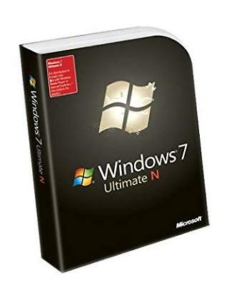 Windows 7 Ultimate N Edition License Key 1 PC Install