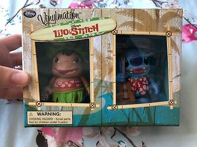 Lilo and Stitch Hawaii Exclusive Vinylmation Rare Disney Collectible Figures