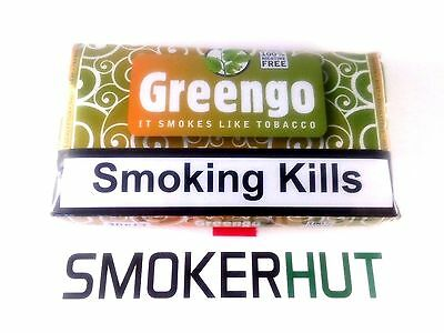 Greengo Herbal Smoking Mixture - 100% Tobacco & Nicotine Free Substitute 30g UK