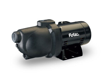 Flotec FP4032 Thermoplastic Shallow Well Jet Pump 1 HP