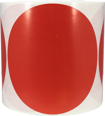 Color Coding Labels Circle Dots 5 Inch 500 Total Adhesive Stickers