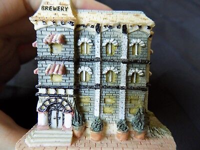 Vintage Ceramic Tully House Brewery Figurine Int'l Resourcing Services *10%OFF*