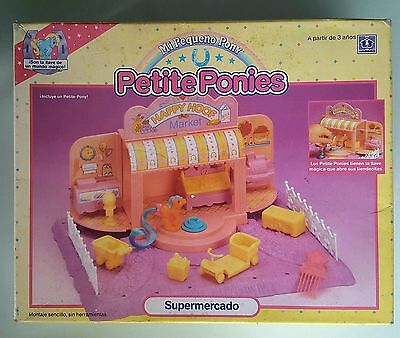 Factory sealed collector´s item Petite Ponies Happy Hoof Market Little Pony