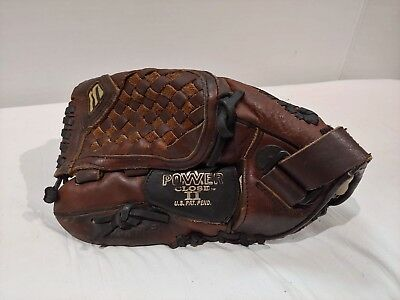Mizuno Prospect Power Close II GPL 1154 11.5 in. Leather Youth Baseball Glove LH