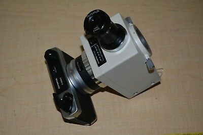 Olympus PM-10AK Microscope Photomicrographic System with C-35AD-2 Camera