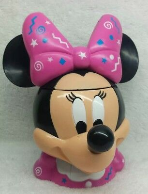 Minnie Mouse Plastic Cup / Mug With Lid From DISNEY ON ICE