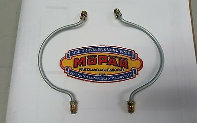 1946 1947 1948 Plymouth New Front Wheel Cylinder To Wheel Cylinder Brake Line