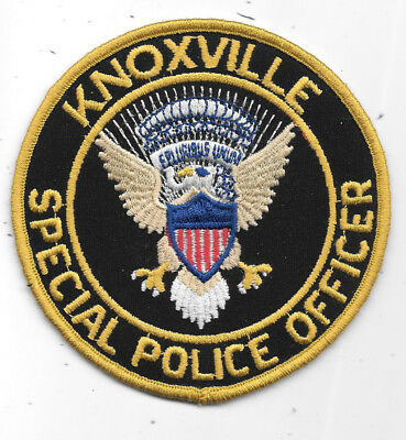 """Police Patch: Knoxville Special Police Officer Eagle Center Measures 4"""""""