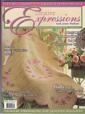 Creative Expressions with JENNY HASKINS - Issue No 8