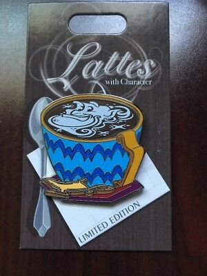 Disney Lattes With Character Genie Aladdin Pin Of The Month LE 3000 Coffee Latte